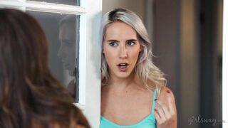 Squirting right to my mom's mature friend! – Abigail Mac, Cadence Lux